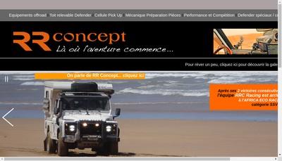 Site internet de SARL Rr-Concept