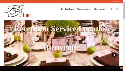 Site internet de Reception Service Location
