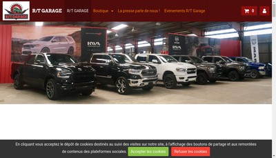 Site internet de RT Garage