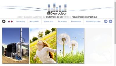 Site internet de Rto Euroclean