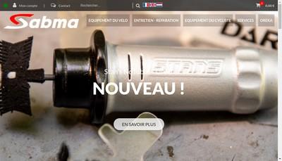 Site internet de Sabma