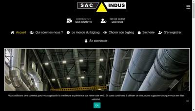 Site internet de Sac Indus