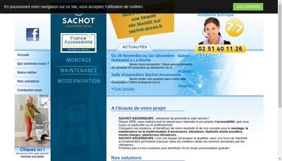 Site internet de Sachot