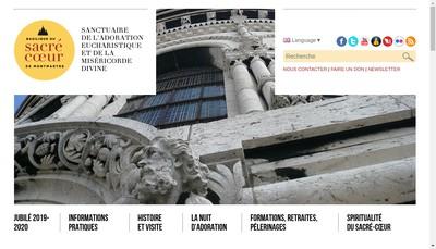 Site internet de Sacre