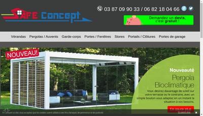 Site internet de Safe Concept