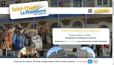 Site internet de Ecole Saint Charles