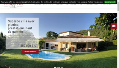 Site internet de Deplanche Immobilier France