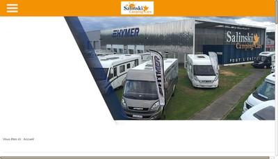 Site internet de Salinski Camping-Cars
