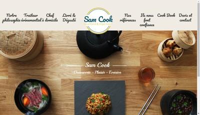 Site internet de Sam Cook
