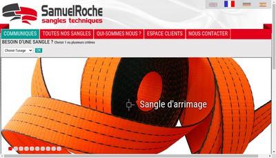 Site internet de Etablissements Samuel Roche