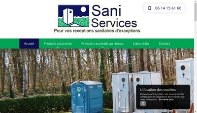 Site internet de A Sani Services