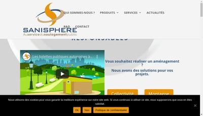 Site internet de Sanisphere