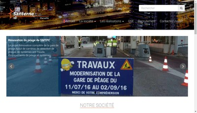 Site internet de Santerne Marseille