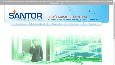 Site internet de Santor