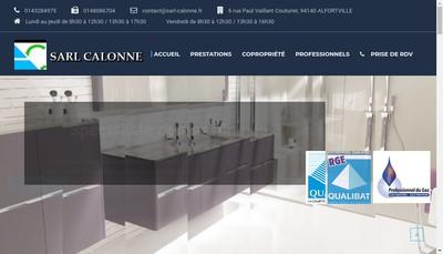 Site internet de Calonne
