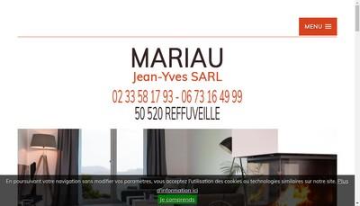 Site internet de Mariau Jean Yves SARL