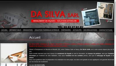 Site internet de Da Silva SARL