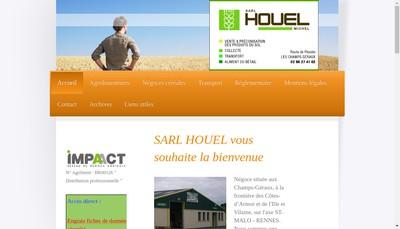Site internet de Houel