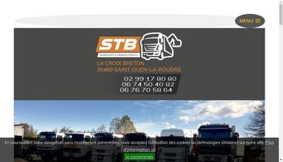 Site internet de Societe de Transport Baudry (Stb)