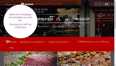 Site internet de Le Pressoir
