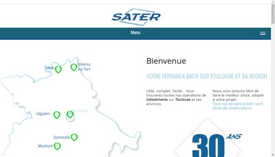 Site internet de Sater