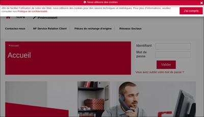 Site internet de Sdpr