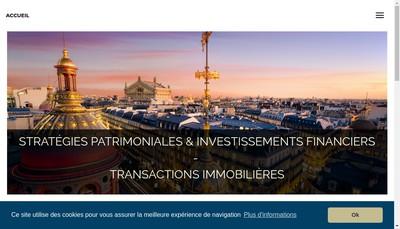Site internet de Cabinet Alain Sauzey