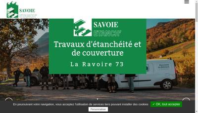 Site internet de Savoie Etanch'