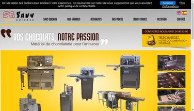 Site internet de Savy et Goiseau