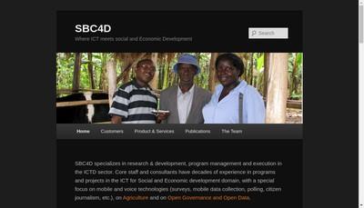 Site internet de Sb Conseil