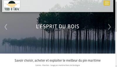 Site internet de Scieries de Corgnac