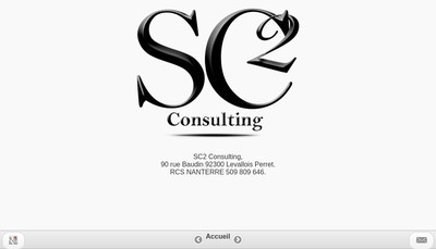 Site internet de Sc2 Consulting