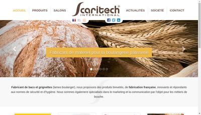 Site internet de Scaritech