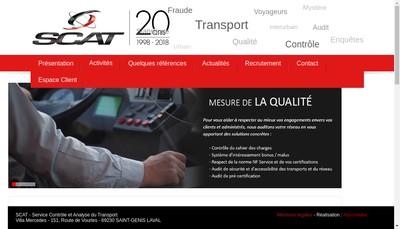 Site internet de SCAT