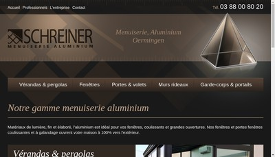 Site internet de Schreiner SARL