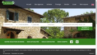 Site internet de Sdep Chateaurenard Immobilier