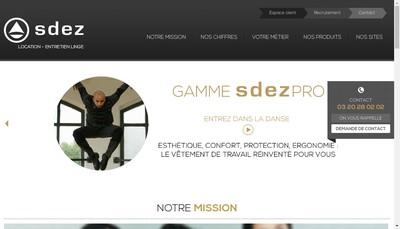 Site internet de Blanchisserie Maritime