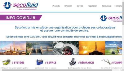 Site internet de Secofluid