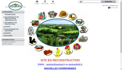 Site internet de Sectrav