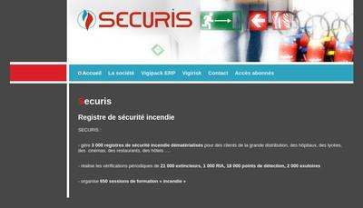 Site internet de Securis