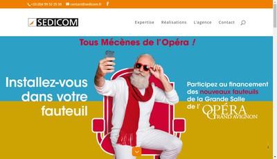 Site internet de Sedicom