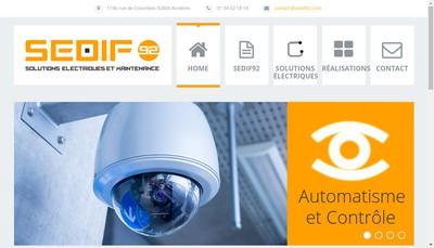 Site internet de SEDIF 92