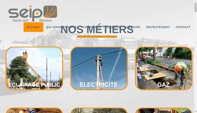 Site internet de Seip Ile de France