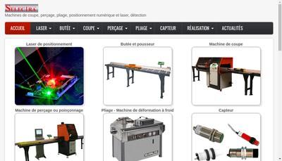 Site internet de Selectra