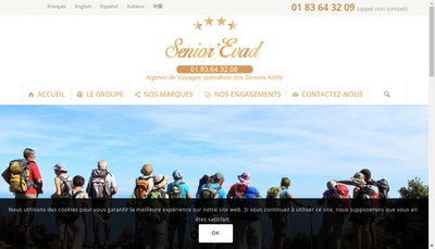 Site internet de Senior'Evad