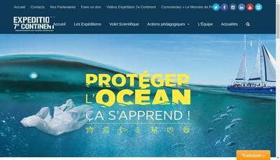 Site internet de Jean-Louis Etienne