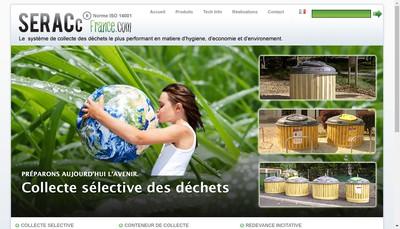 Site internet de Seracc France