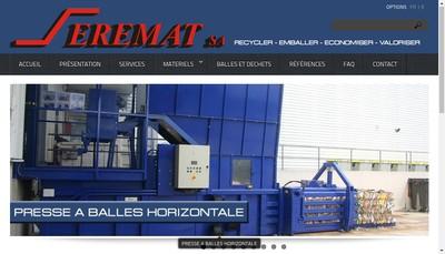 Site internet de Seremat