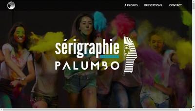 Site internet de Serigraphie Palumbo