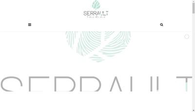 Site internet de Serrault Jardin